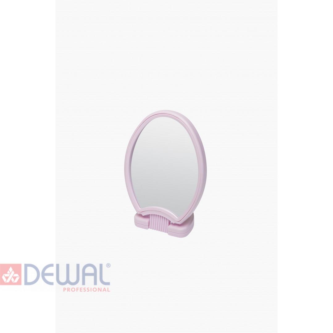 Зеркало двухстороннее настольное на пластиковой подставке DEWAL BEAUTY MR25