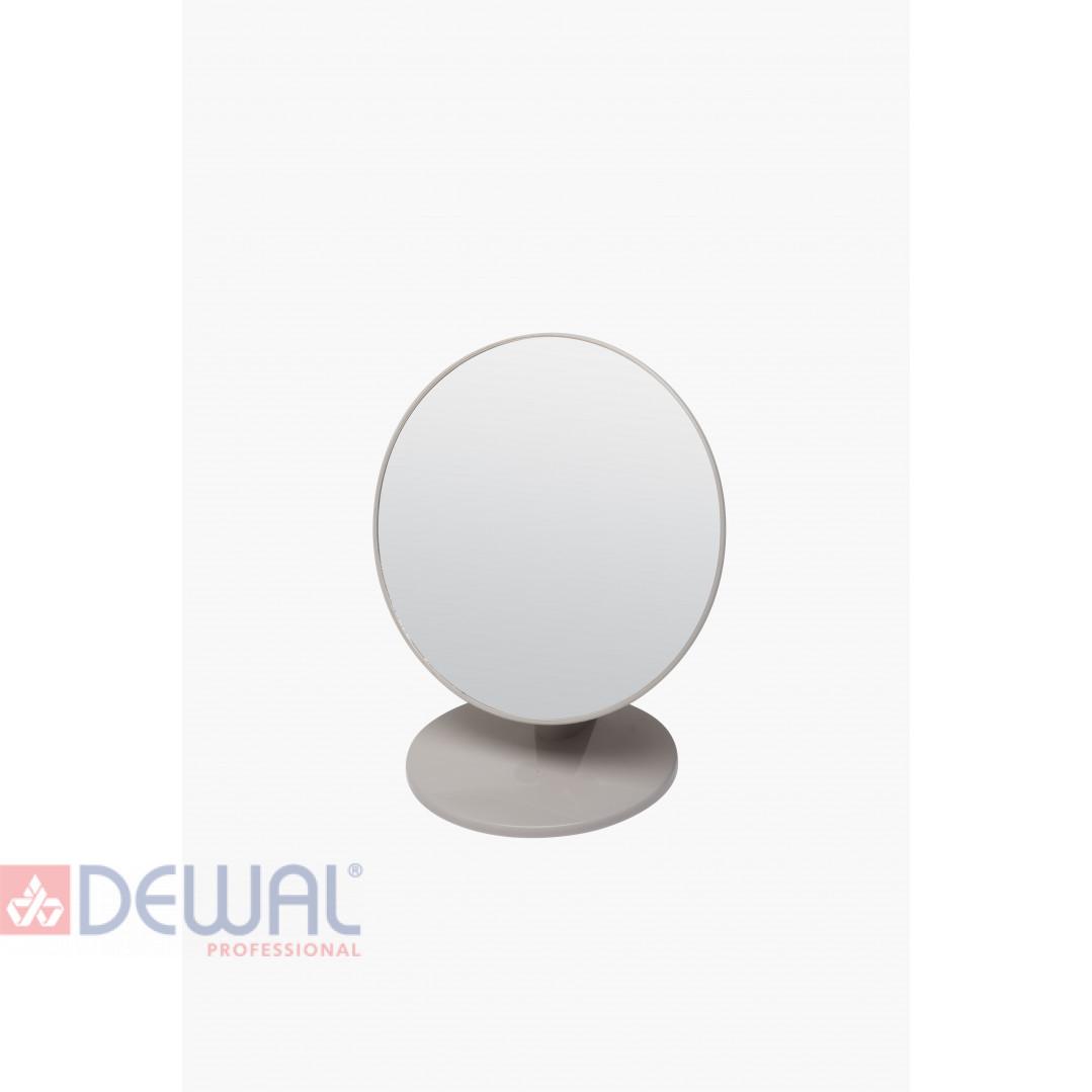 Зеркало одностороннее настольное на пластиковой подставке DEWAL BEAUTY MR26