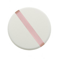 Губка макияжная круглая (5 шт) DEWAL N15
