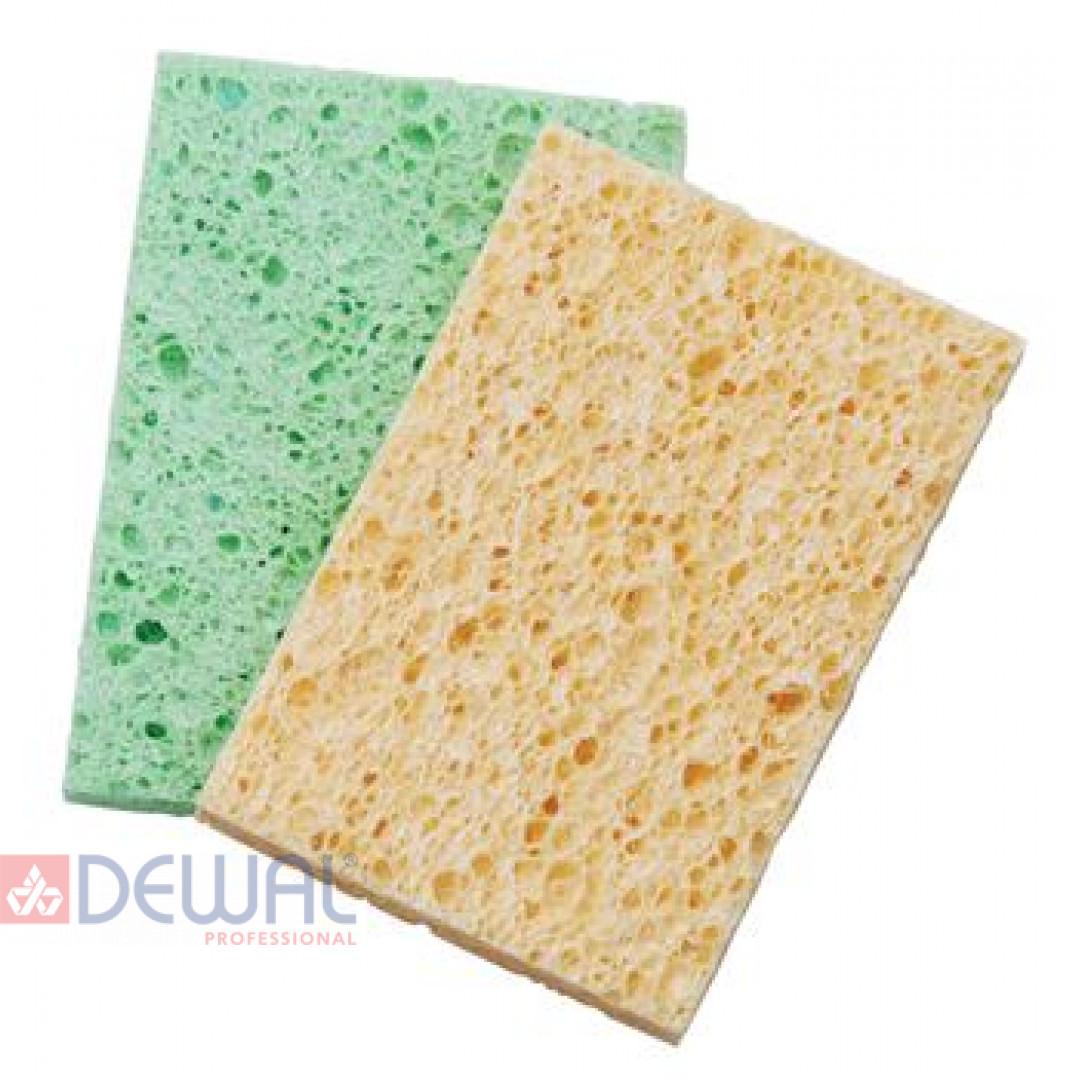 Спонж для снятия макияжа квадратный цветной (2 шт) DEWAL N17