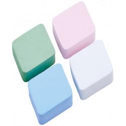Губка макияжная цветная (4 шт) DEWAL N21