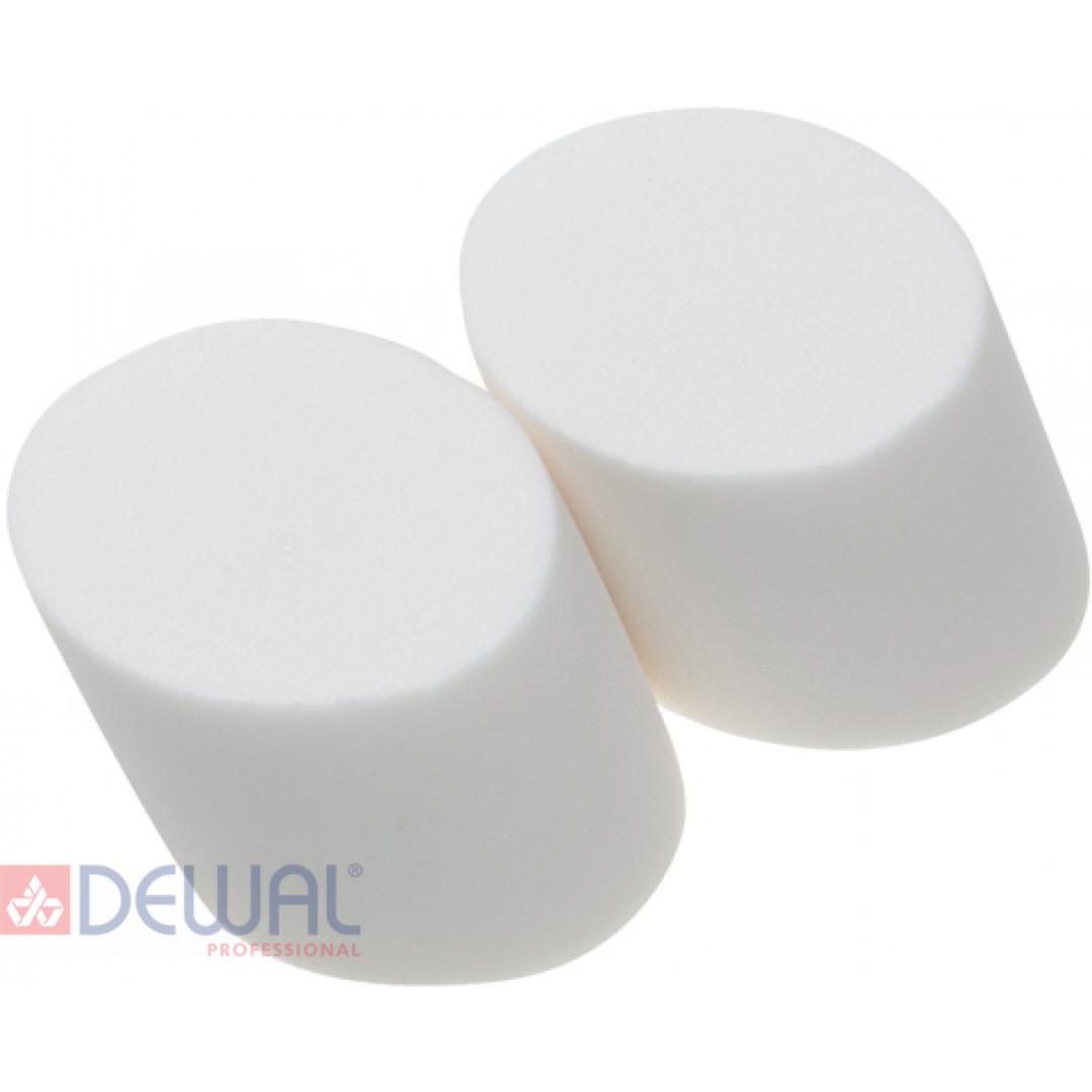 Губка макияжная скошенная (2 шт) DEWAL N543