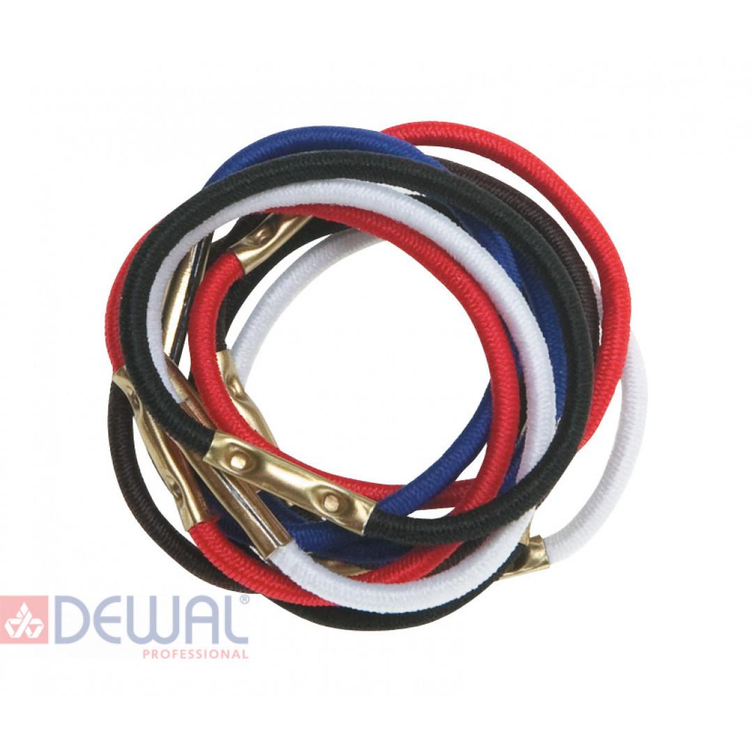 Резинки для волос цветные, mini (10 шт) DEWAL RE026