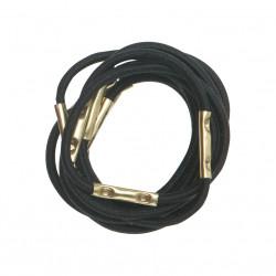 Резинки для волос черные, mini (10 шт) DEWAL RE027