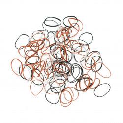 Резинки для волос силиконовые, mini (100 шт) DEWAL RES034