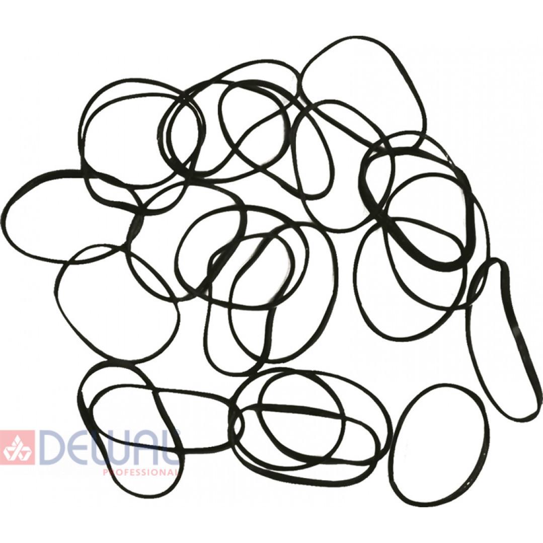 Резинки для волос силиконовые, mini (100 шт) DEWAL RES036