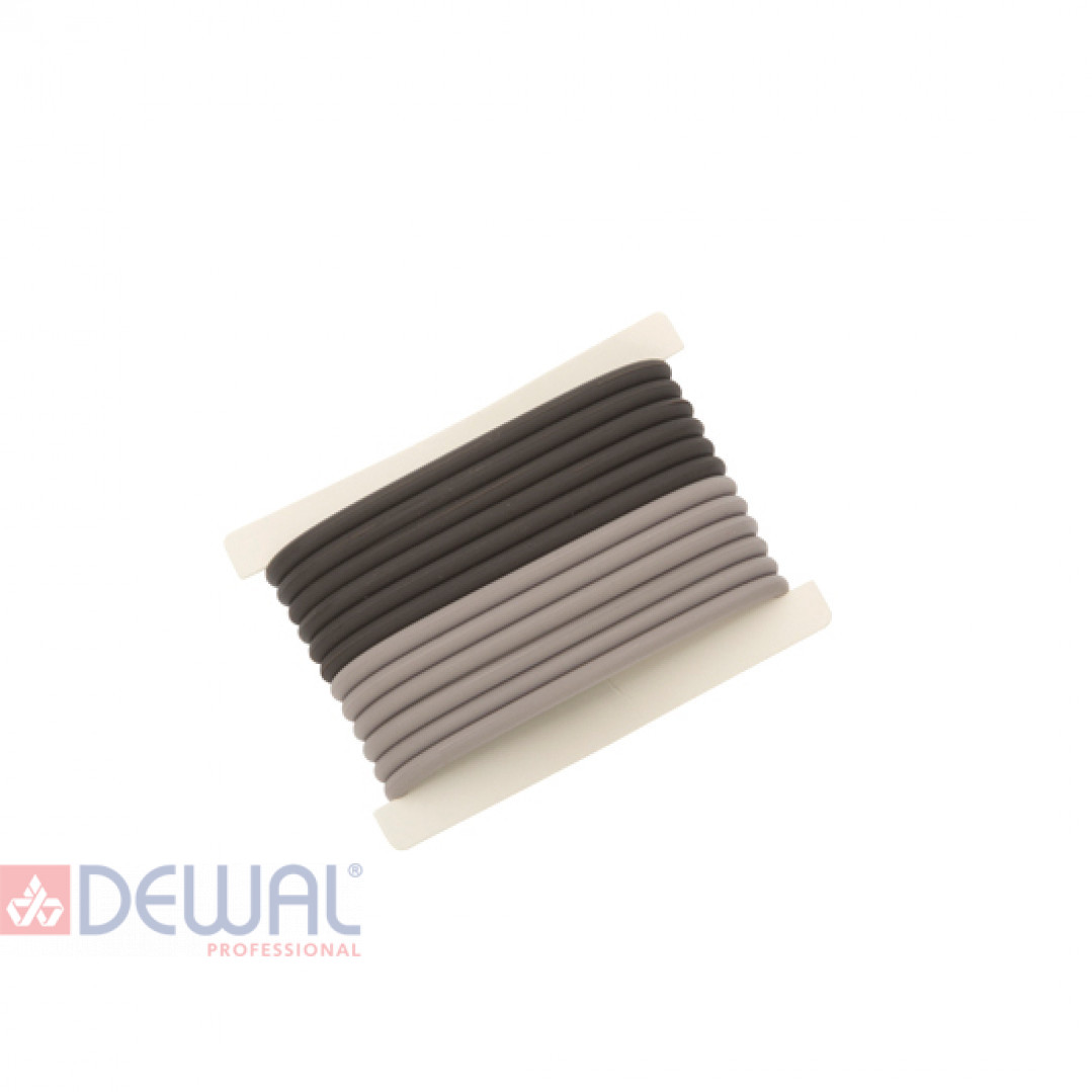 Резинки для волос силиконовые (12 шт) DEWAL RES038