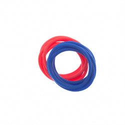 Резинки для волос силиконовые (12 шт) DEWAL RES040