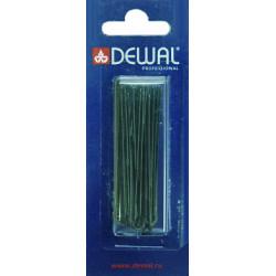 Шпильки 60 мм прямые, черные (24 шт.) DEWAL SLT60P-1/24