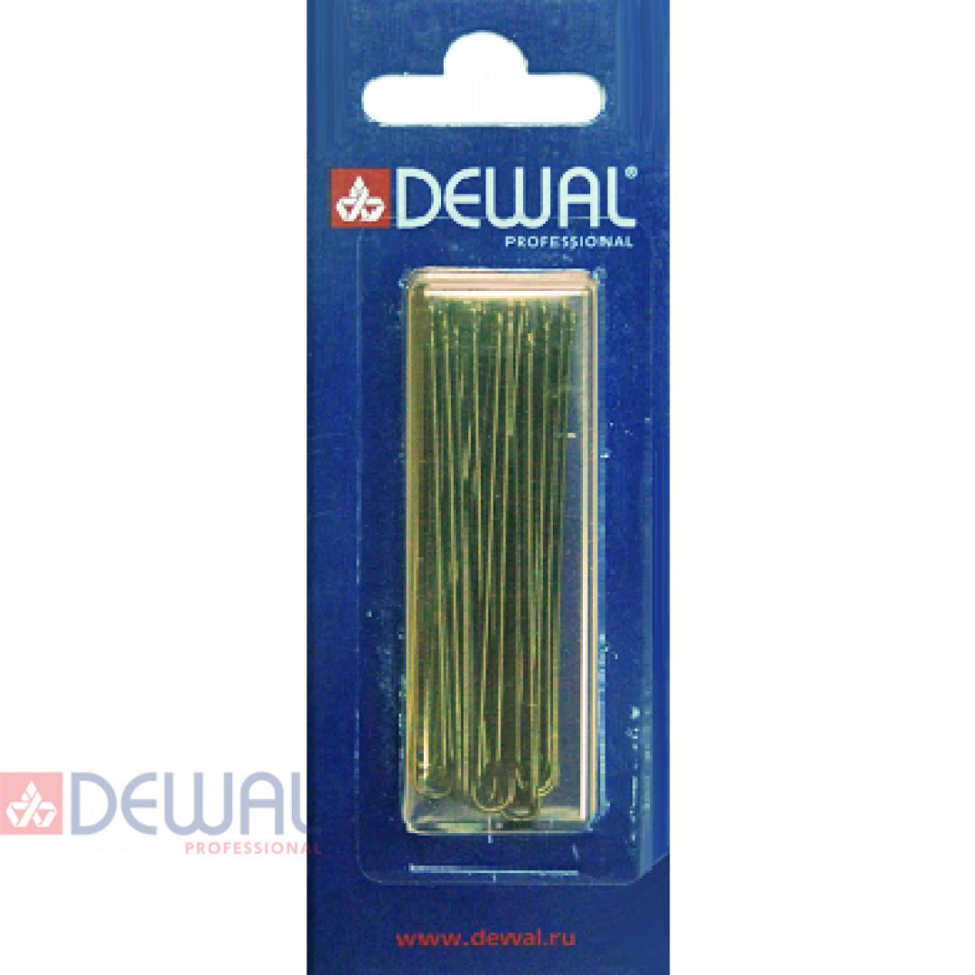 Шпильки 60 мм прямые, коричневые (24 шт.) DEWAL SLT60P-3/24
