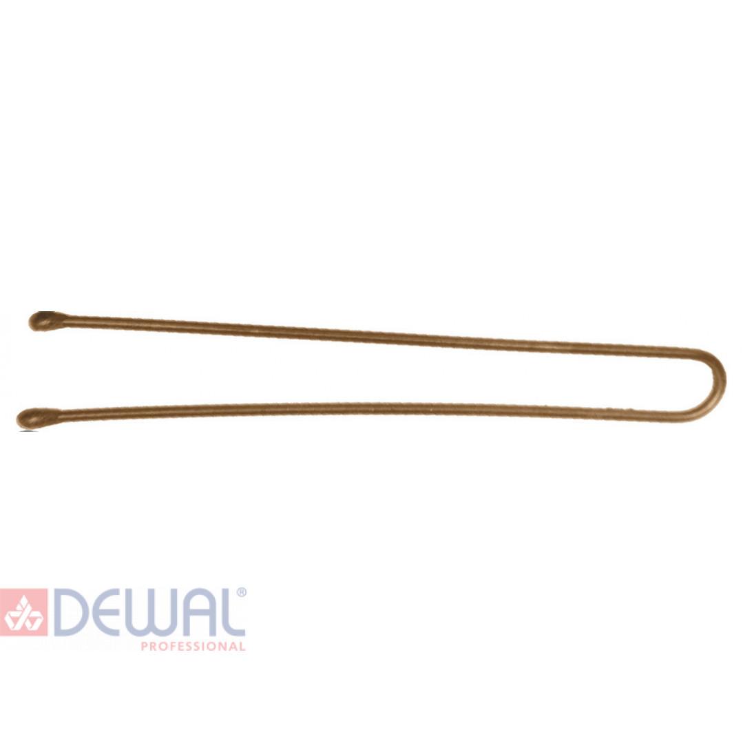 Шпильки 60 мм прямые, коричневые (60 шт.) DEWAL SLT60P-3/60