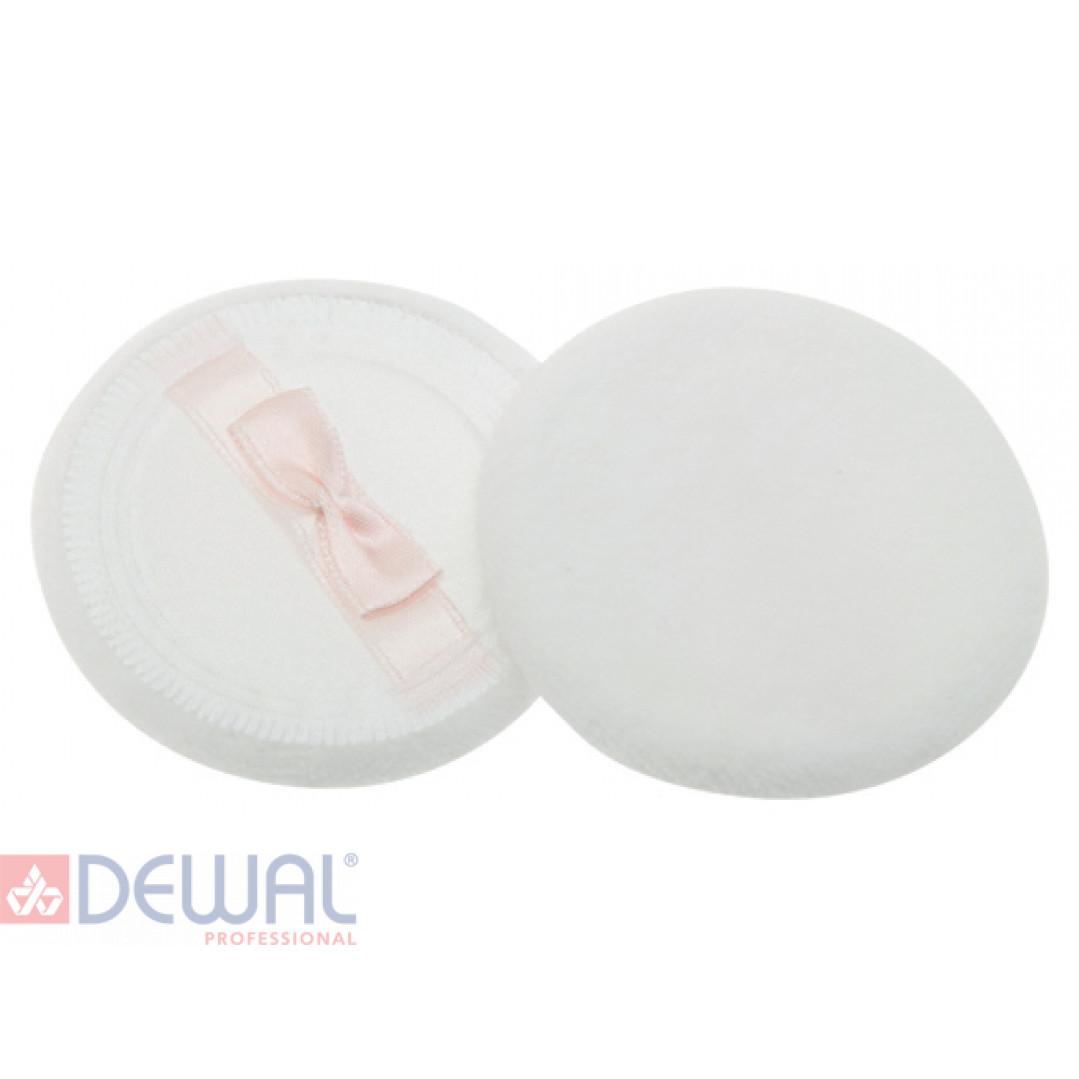 Губка макияжная круглая для пудры (2 шт) DEWAL BEAUTY SP-08