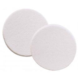 Губка для нанесения макияжа круглая (2 шт) DEWAL BEAUTY SP-11