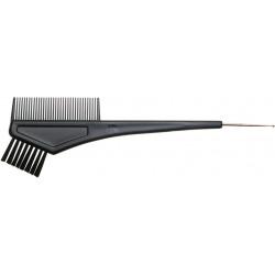 Кисть для окрашивания волос с расческой и крючком DEWAL T-1156