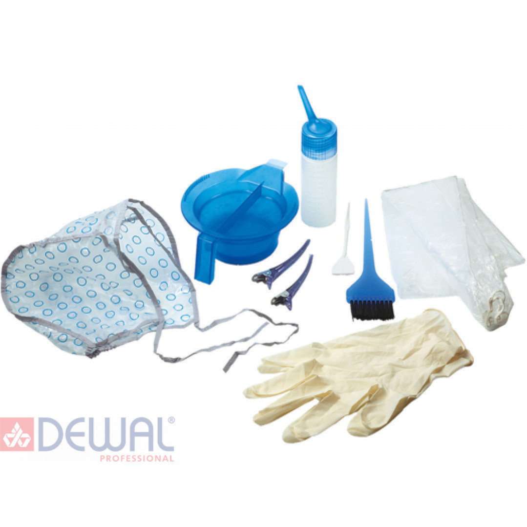 Набор для окрашивания,9 предметов DEWAL T-1218K2