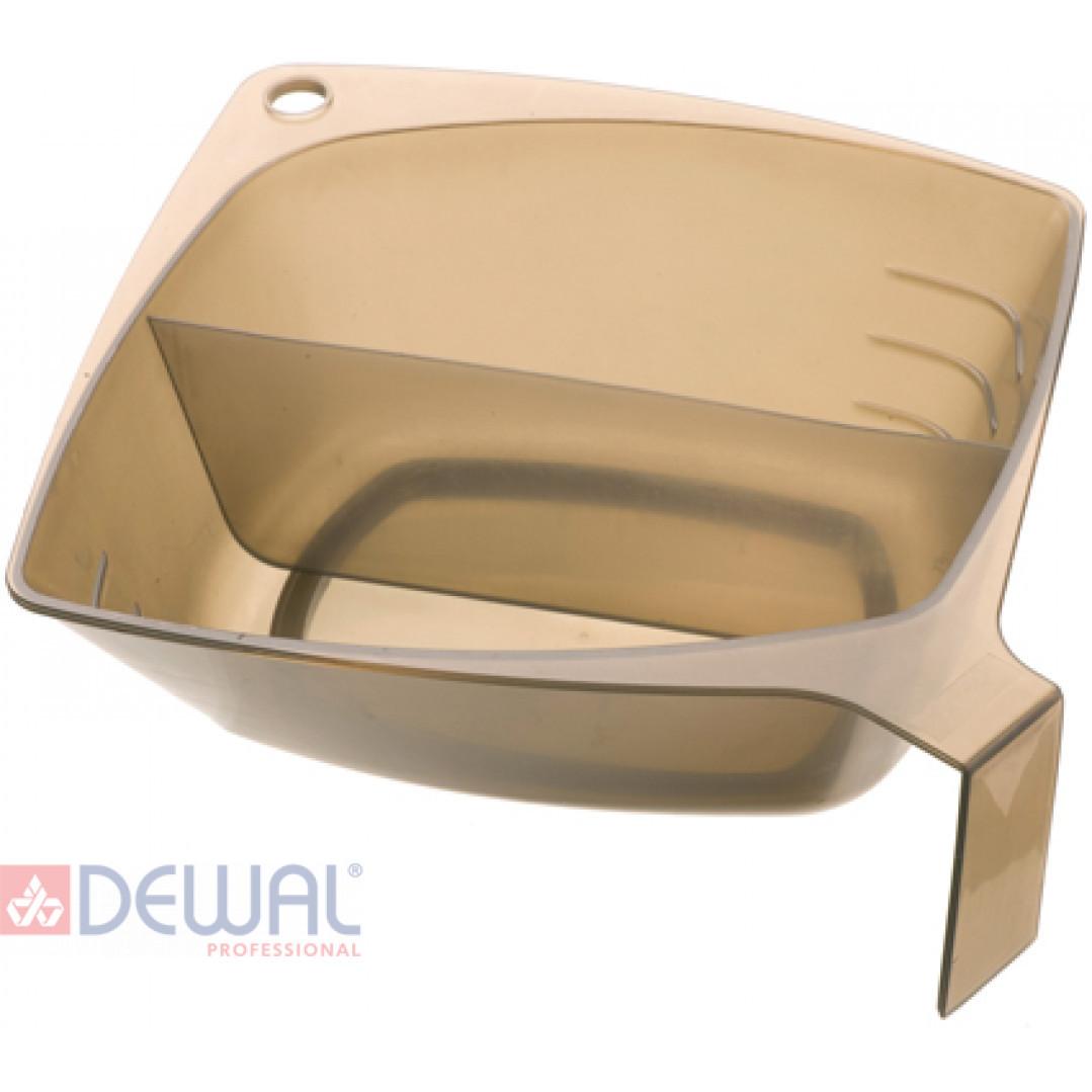 Чаша для окрашивания квадратная 2 х 300 мл DEWAL T-1222